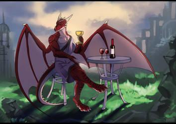 Com: drink wine with me