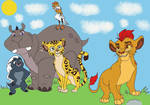 The Lion Guard are ready to defense
