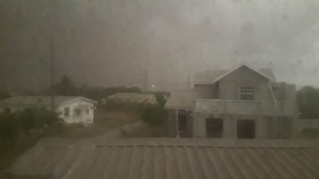 Barbados Volcanic ash