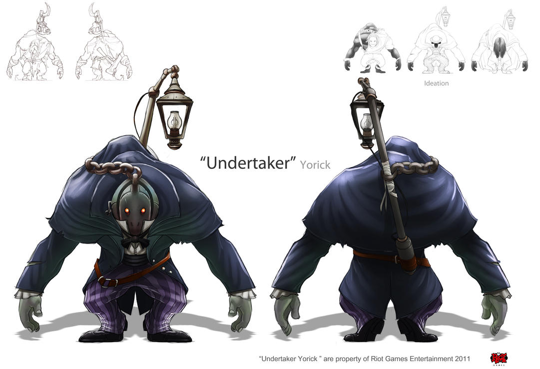 Undertaker, Yorick by The-Bravo-Ray