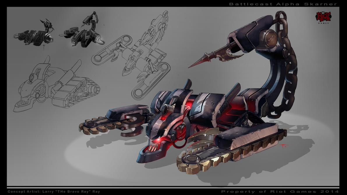 Battlecast Alpha Skarner by The-Bravo-Ray