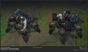 Urgot Front and Back FIN by The-Bravo-Ray