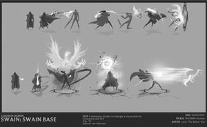 Swain animation studies by The-Bravo-Ray
