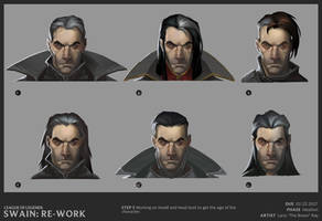 Swain head studies (2) by The-Bravo-Ray