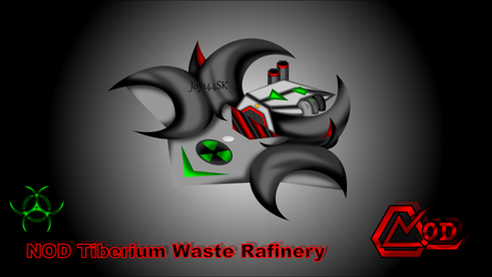 CaC - NOD Tiberium Waste Rafinery (PNG)