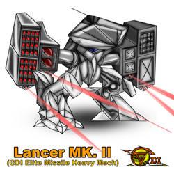 CaC - Lancer MK.II (GDI Elite Missile Mech) (PNG)