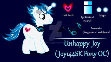 Unhappy Joy (Joy144SK MLP OC)