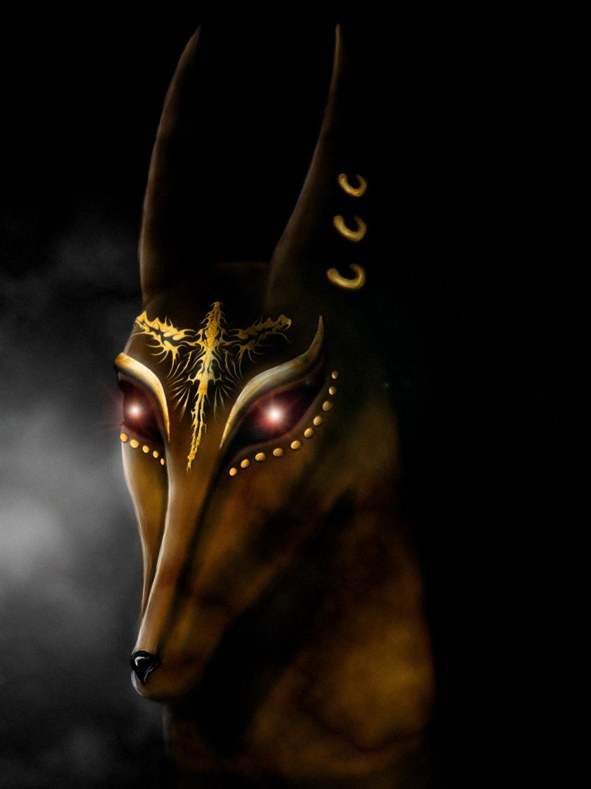 Anubis Head Anubis head by shadowcat-et