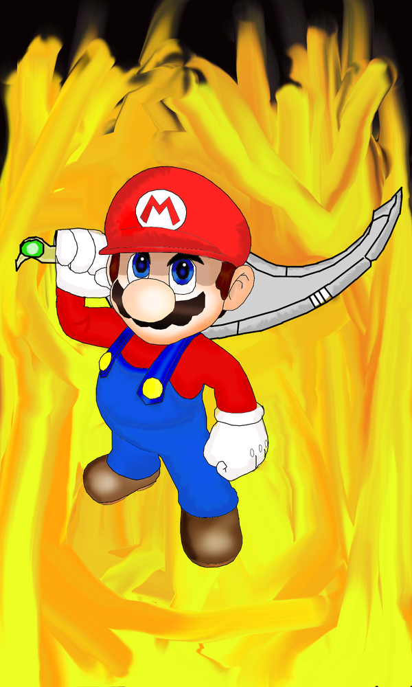 Mario Is Back by demonman119