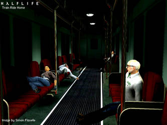 HL2 Train Ride Home by psychotic-sf