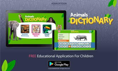 Animals Dictionary App
