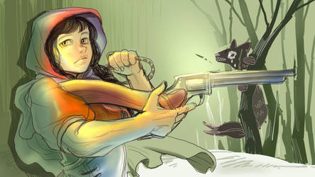 Little red riding hood by kimindi