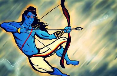 Rama, ready for war by SandmanDreamzZz