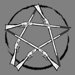 Supernatural Winchester Pentagram by SandmanDreamzZz
