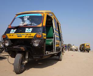 Rickshaw - India by SandmanDreamzZz