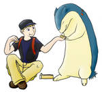 A Boy and His Typhlosion