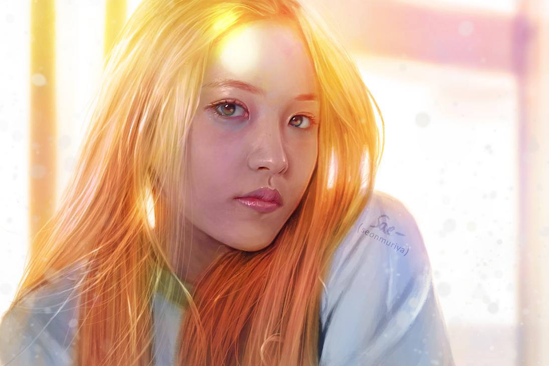 Red Velvet Yeri portrait by getyourdragon