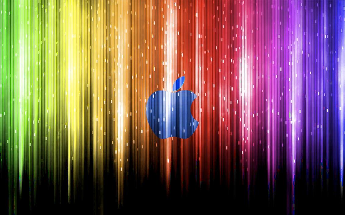 Rainbow Apple Wallpaper > Apple Wallpapers > Mac Wallpapers > Mac Apple Linux Wallpapers