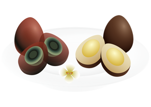 Preserved Eggs and Iron Eggs