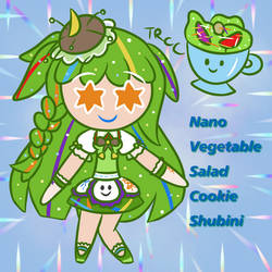 Nano Vegetable Salad Cookie Shubini(TRCC OC)