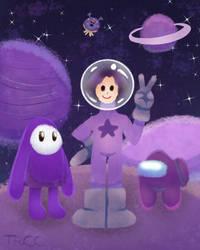 purple paint planet travels