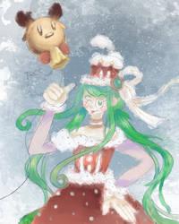 Green Mori Mori birthday