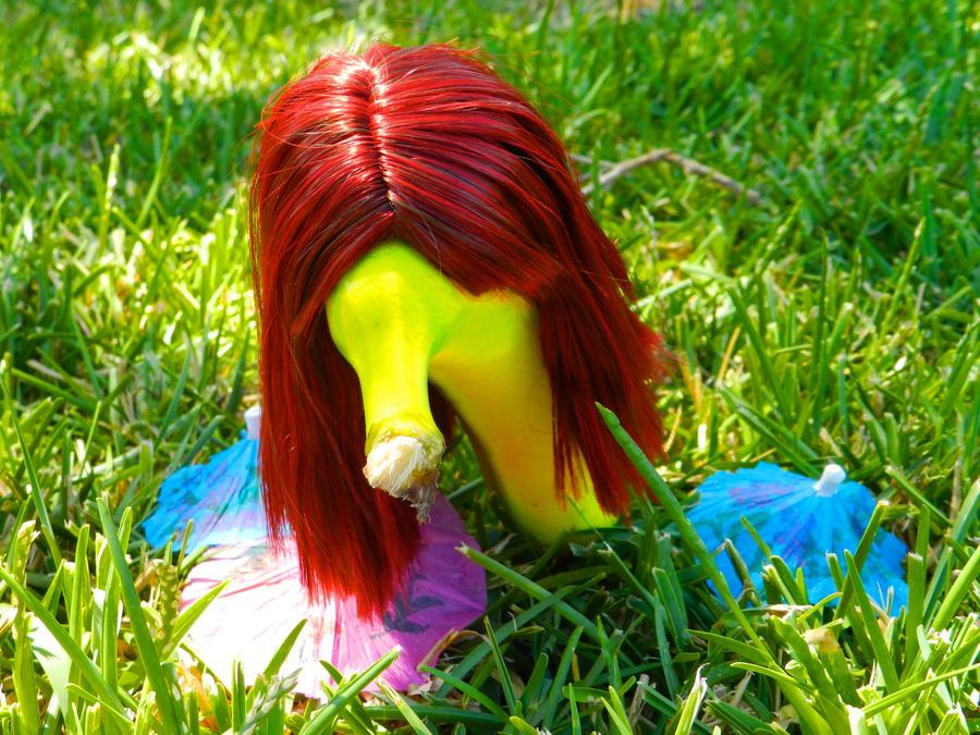 Redhead Banana by machete-genie