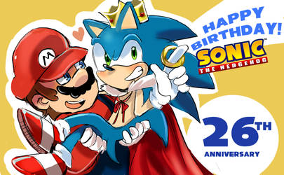 Happy birthday Sonic