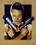Lara Croft AKA Angelina Jolie