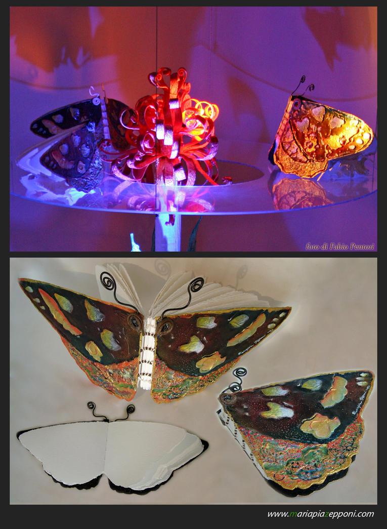 ArtBooks-Book Butterfly by pittyarte