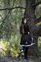 Gothic Lolita na Debinie by sarielowa