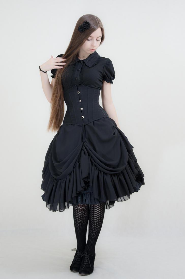 Gothic Lolita Lady Sariel by sarielowa