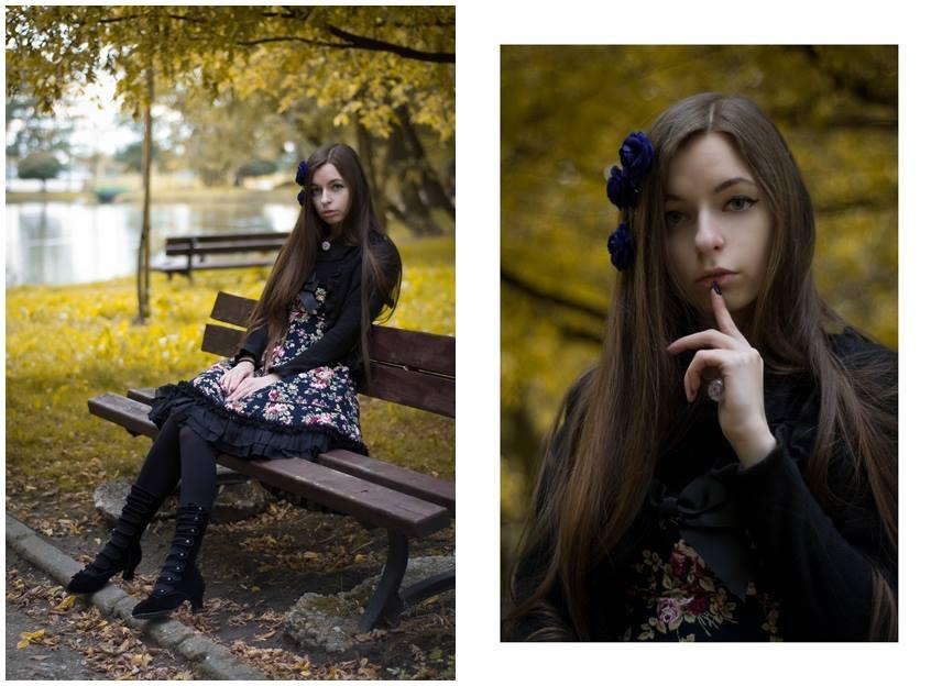 Classic Lolita Autumn 3 by sarielowa