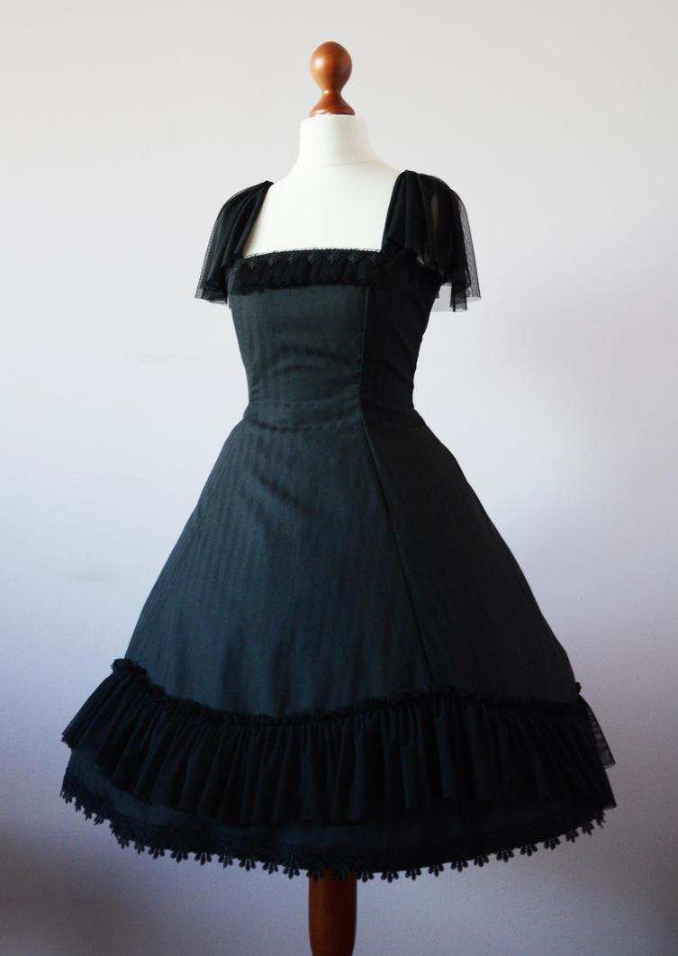 Lady Sariel striped lolita dress by sarielowa