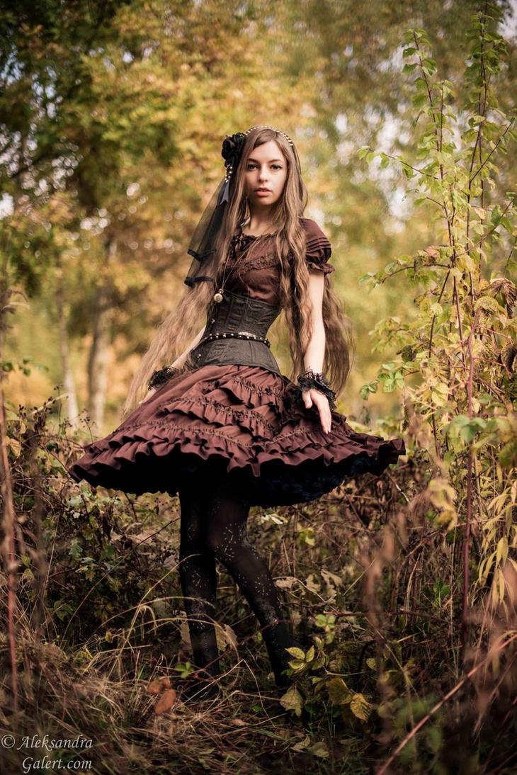 Steampunk lolita III by sarielowa