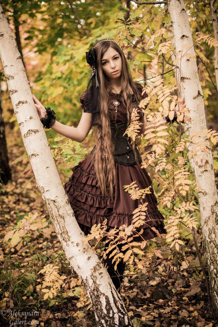Steampunk lolita IV by sarielowa