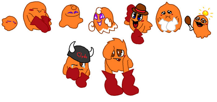 the various designs of clyde
