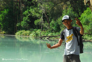 Dieng Lake by gat0t