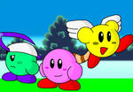 Kirby, Aege, and Saito