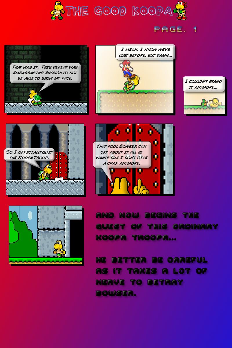 Good Koopa v2 ch 1 page 1