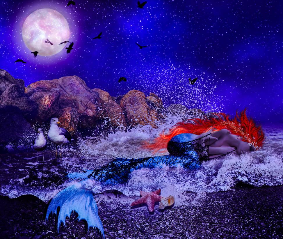 Moonlighting Mermaid