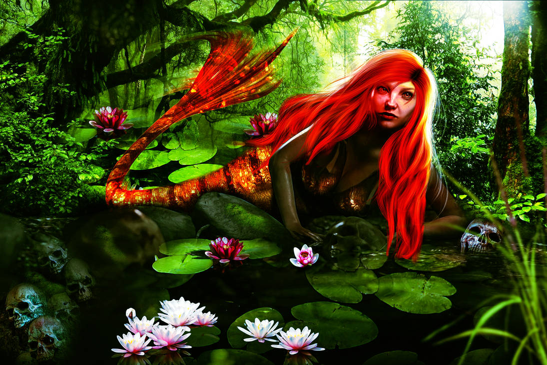 Jungle Fever Mermaid