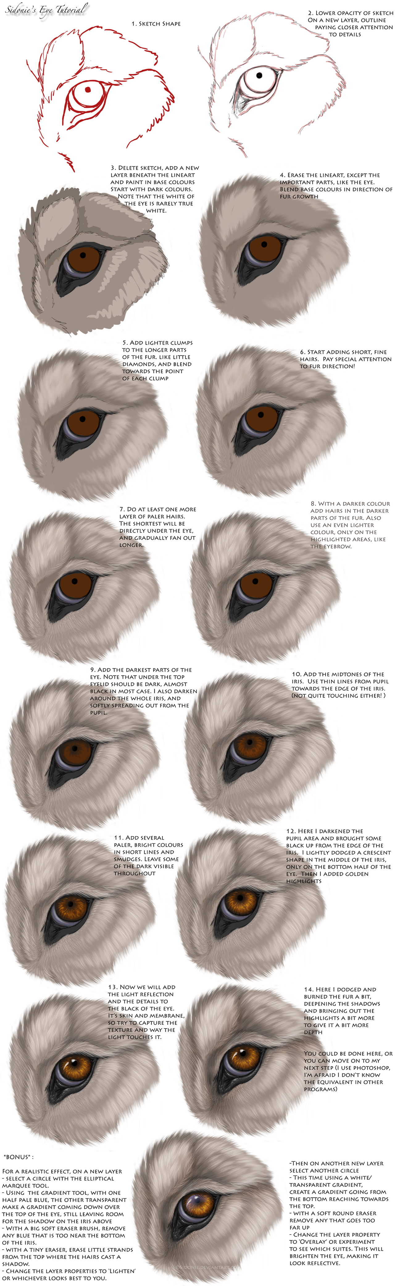 Eye Tutorial by Sidonie