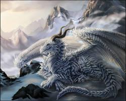 Ice Dragon by Sidonie
