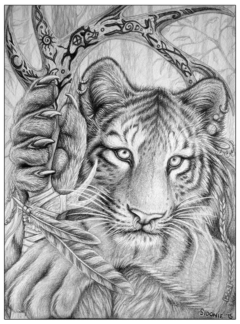 Siberian Huntress by Sidonie