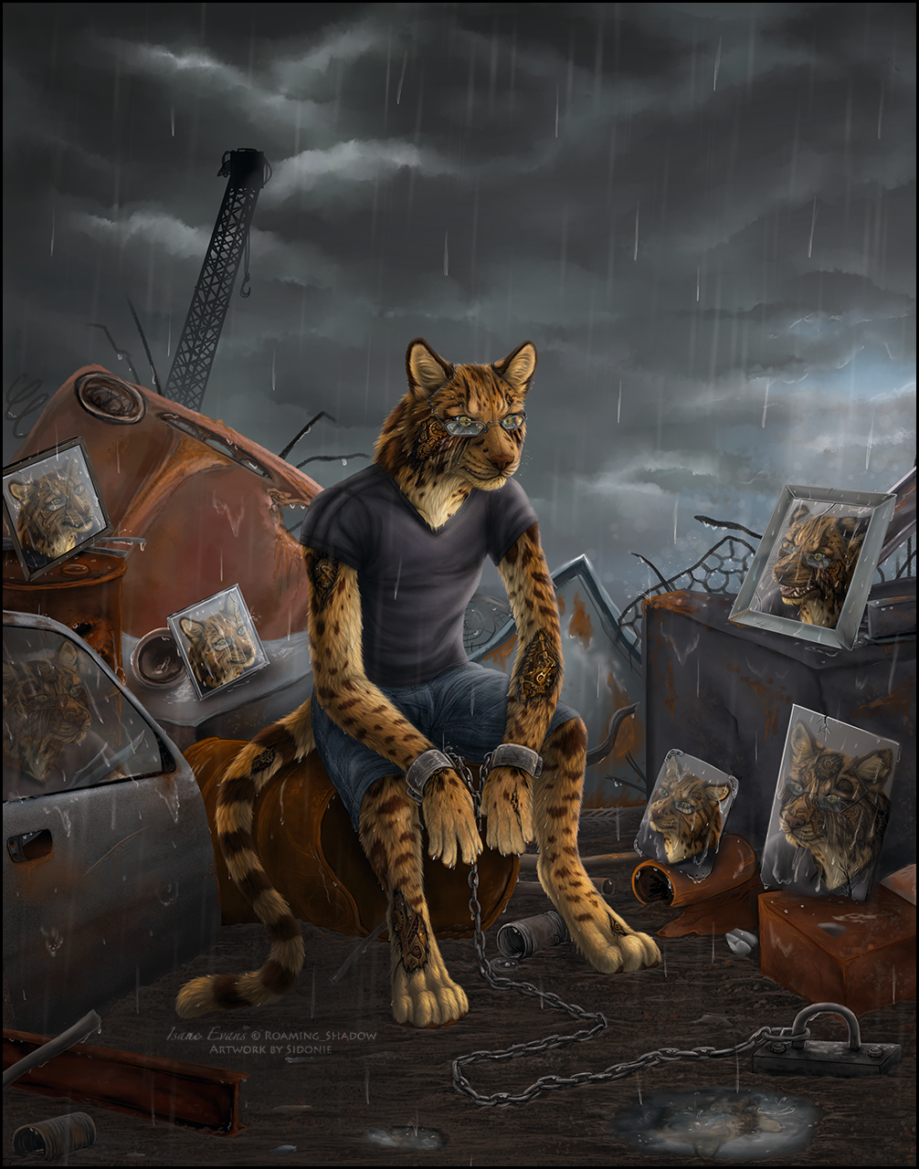 We are Rusted from the Rain by Sidonie