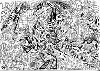 Terror Dactile Machine by Mad--Munchkin