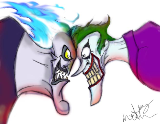 Hades and Joker by Mad--Munchkin