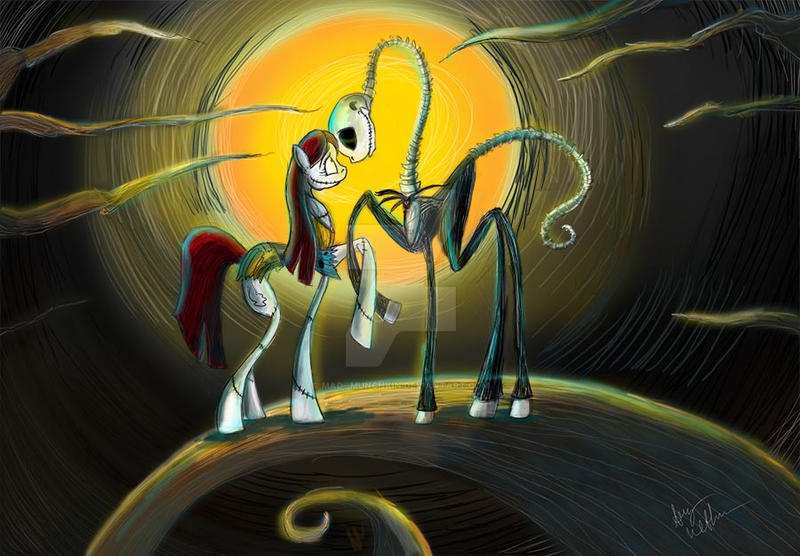 Jack and Sally (Pony) We're Simply Meant To Be by Mad--Munchkin on ...