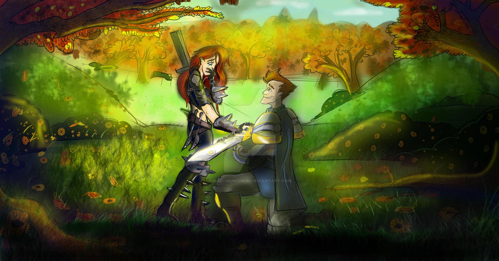 (Commission) Garen And Katarina By Mad  Munchkin ...